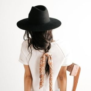 The Kensington: Wool Felt Wide Brim Structured Hat